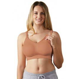 Bravado Body Silk Seamless Nursing Bra cinnamon