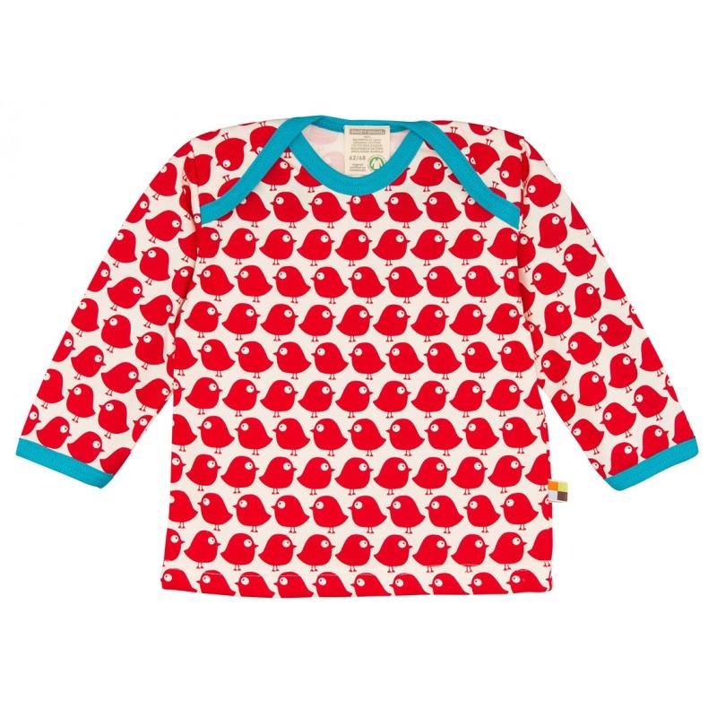Loud&Proud T-Shirt vogels lm tomato
