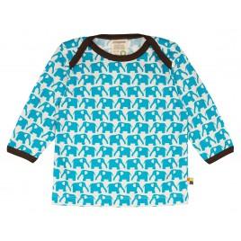 Loud&Proud T-Shirt olifant  lm aqua
