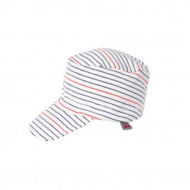Froy & Dind Summer Cap Stripes Marine