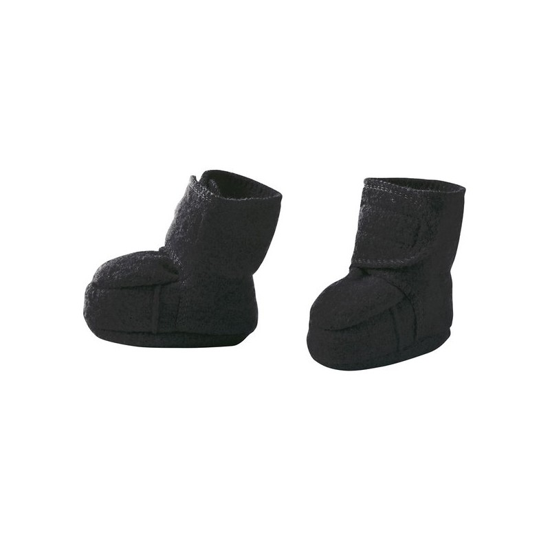 Disana Anthracite Boiled Wool  Booties