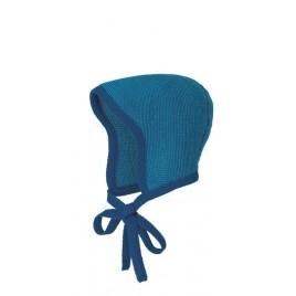 Disana Knitted Bonnet navy-blue