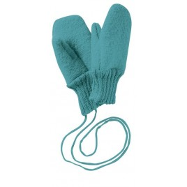 Disana Lagoon Boiled Wool Gloves