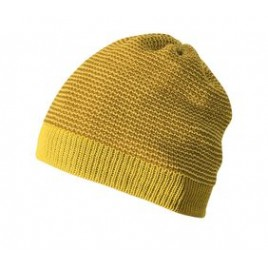 Disana Beanie curry-gold
