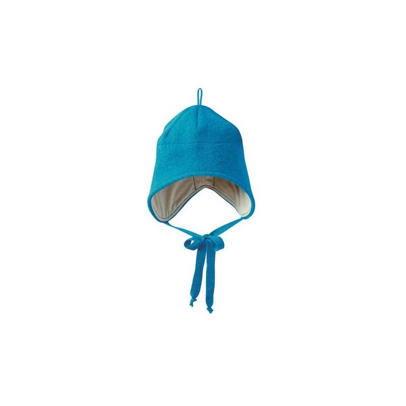 Disana Blue Boiled Wool Hat