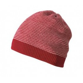 Disana Beanie bordeaux-rose
