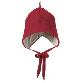 Disana Boiled Wool Hat bordeaux