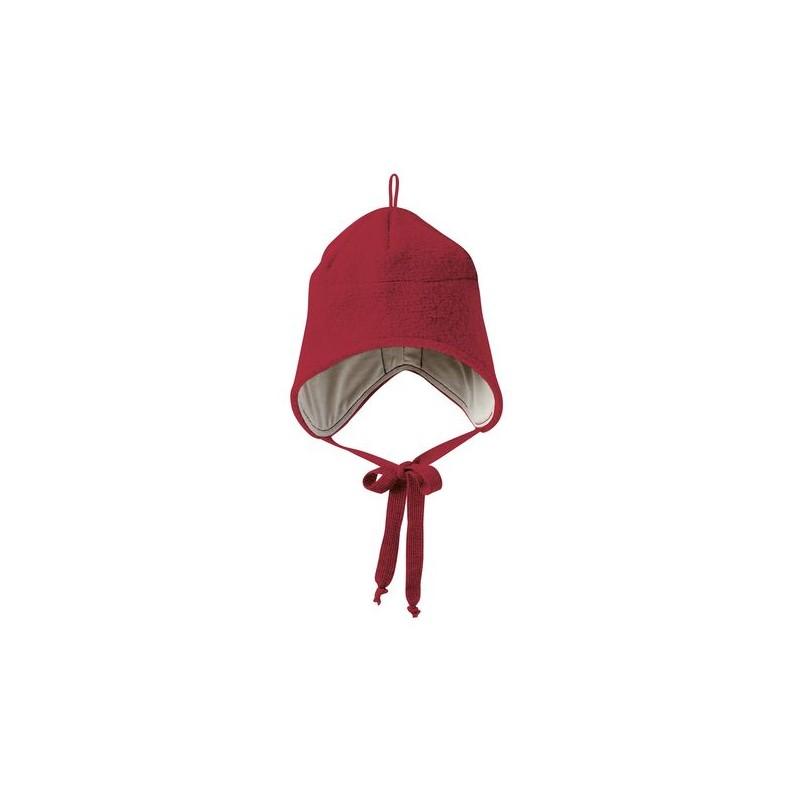 Disana Bordeaux Boiled Wool Hat