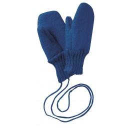 Disana Navy Boiled Wool Gloves