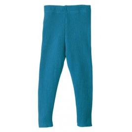 Disana Blue Knitted Leggings