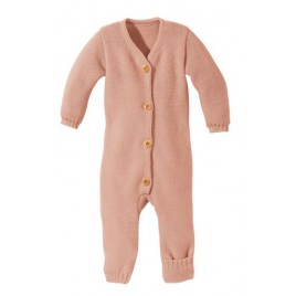 Disana Knitted Overall rosé
