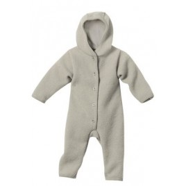Disana Grey Boiled Wool Overall