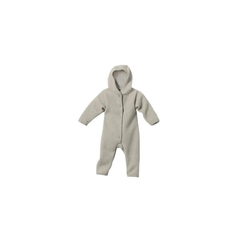 Disana Grey Boiled Wool Overall