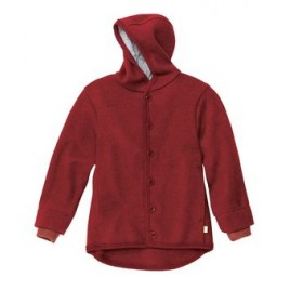 Disana Bordeaux Boiled Wool Jacket