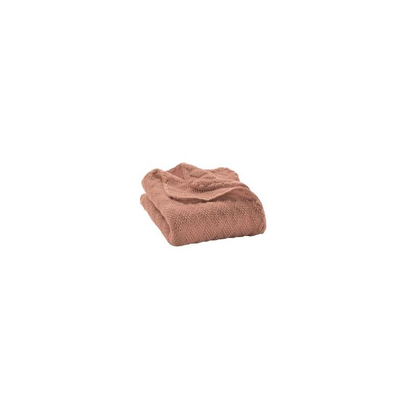Disana Rosé Knitted Woollen Baby Blanket