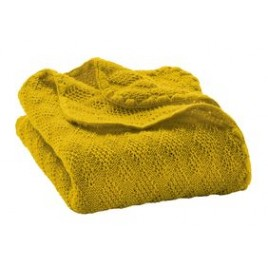 Disana Curry Knitted Woollen Baby Blanket