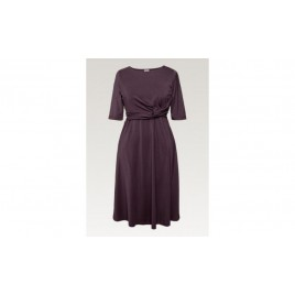 Boob Twist Dress cassis