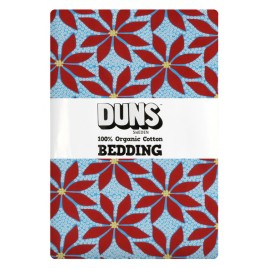Duns Bedding Poinsettia Blue