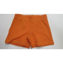 Duns Short Pants Solid Orange