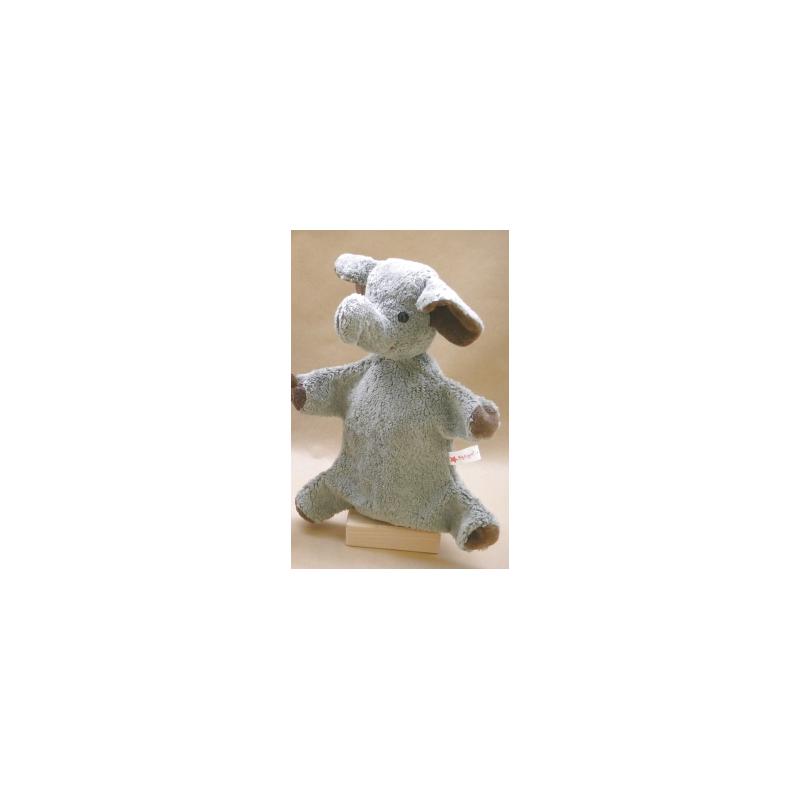 Kallisto Elefanten  Handpuppe grau
