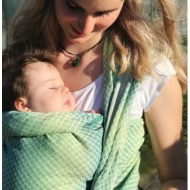 Didymos Baby wrap sling Facett Wasabi size 7