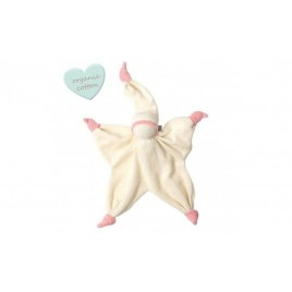 Peppa Sisco Organic off white/baby pink