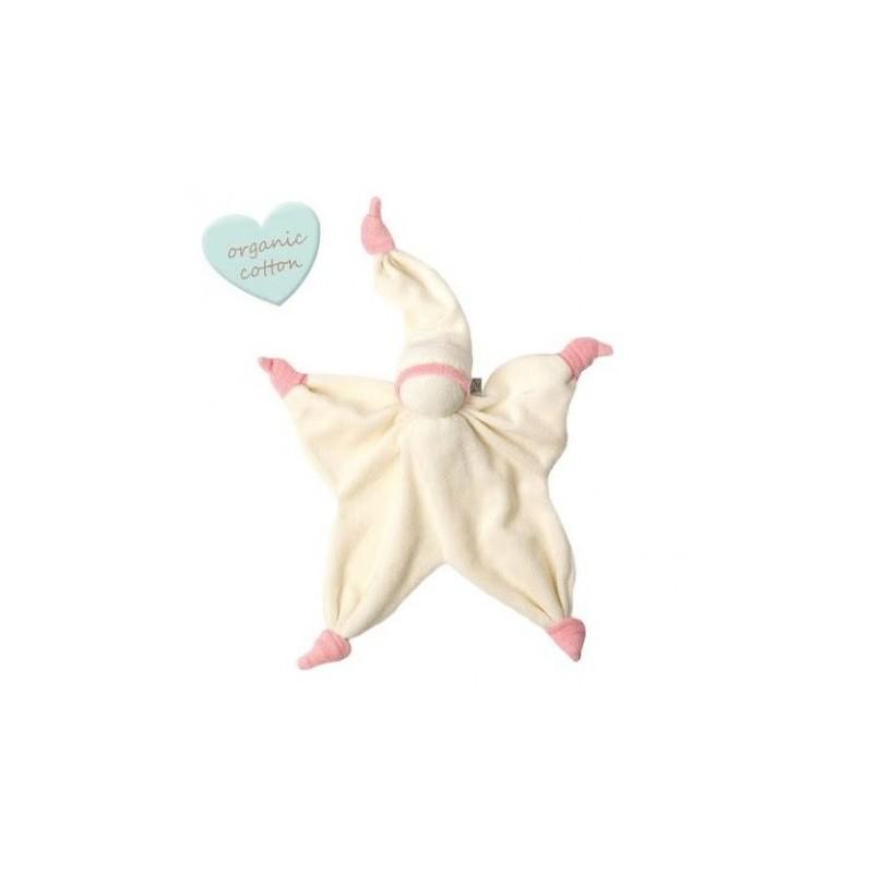 Peppa Sisco Organic off white/baby pink
