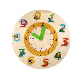 Hess Lernuhr mit Puzzle-Zahlen