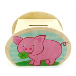 Hess Spardose Schweinchen/Pilz