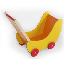 Hess Puppenwagen Gelb