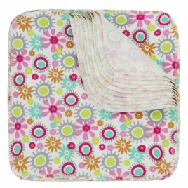 Imse Vimse Washable & Reusable Wipes Flowers