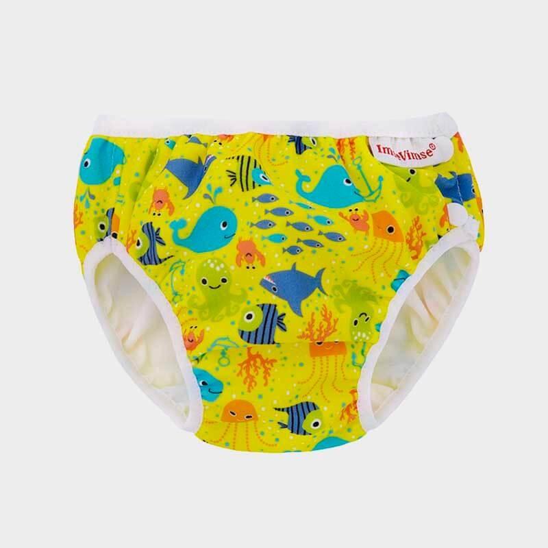Imse Vimse Swim Diaper Yellow Seven Seas