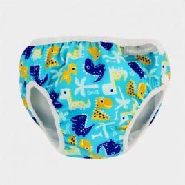 Imse Vimse Swim Diaper Turquoise Dino