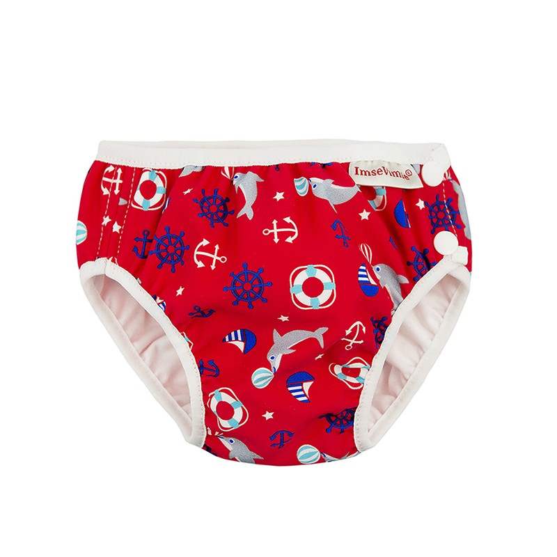Imse Vimse Swim Diaper Red Marine