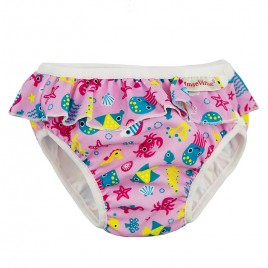 Imse Vimse Swim Diaper Pink Sealife