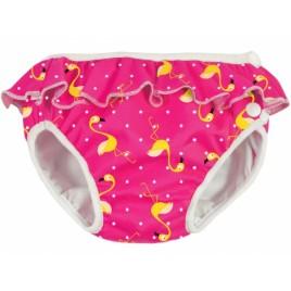 Imse Vimse Swim Diaper Pink Flamingo Frill