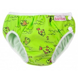 Imse Vimse Swim Diaper Green Fish