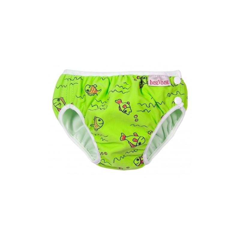Imse Vimse Swim Diaper Green Fish