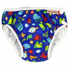 Imse Vimse Swim Diaper Blue Sea Life