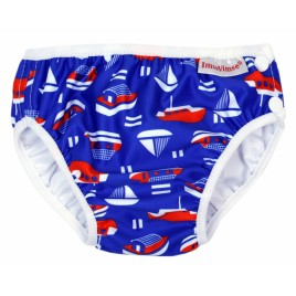 Imse Vimse Swim Diaper Blue Sailor