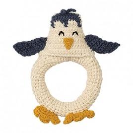 Hoppa Crochet Rattle Penguin