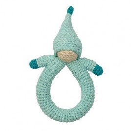 Hoppa Crochet Ratte Doll blue