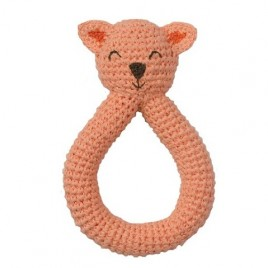 Hoppa Crochet Ratte Cat pink