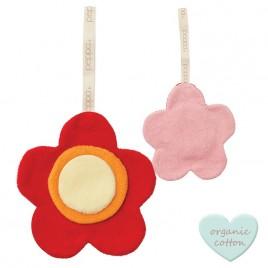 Hoppa Comfort Buddies Flower red/baby pink red/baby pink