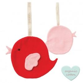 Hoppa Comfort Buddies Bird red/baby pink red/baby pink