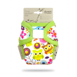 Petit Lulu Newborn Cover Happy Owls