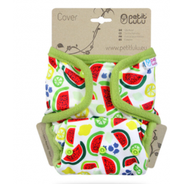 Petit Lulu One Size Cover (Snaps) Melons