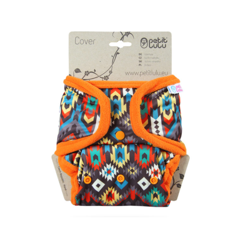 Petit Lulu One Size Cover (Snaps) Etno