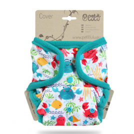 Petit Lulu One Size Cover (Snaps) Lagoon