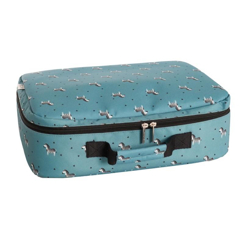 Aikoo Suitcase Zebra